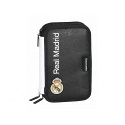 Plumier Escolar Real Madrid 12,5x6x20,5 cm Baloncesto