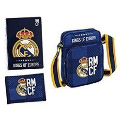 Set Regalo Escolar Real Madrid Blue