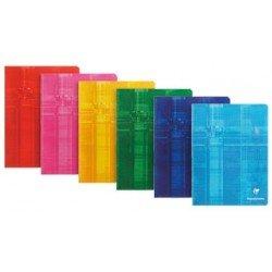 Libreta Clairefontaine Tapa de Carton Plastificada 48 hojas DIN A5 Colores Surtidos