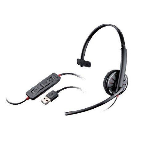 Auricular Plantronics Blackwire C310 con Microfono Color Negro