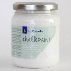 Pintura Acrilica La Pajarita Efecto Tiza Color Blanco Nube 175 ml Chalk Paint
