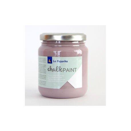 Pintura Acrilica La Pajarita Efecto Tiza Color Malva Fumee 175 ml Chalk Paint