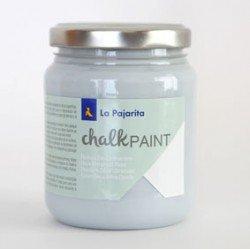 Pintura Acrilica La Pajarita Efecto Tiza Color Azul Cristal 175 ml Chalk Paint
