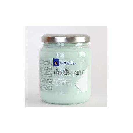 Pintura Acrilica La Pajarita Efecto Tiza Color Mint 175 ml Chalk Paint