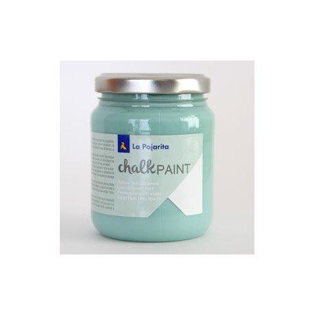 Pintura Acrilica La Pajarita Efecto Tiza Color Verde Hielo 175 ml Chalk Paint