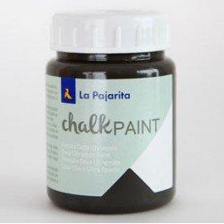 Pintura Acrilica La Pajarita Efecto Tiza Color Casi Negro 175 ml Chalk Paint