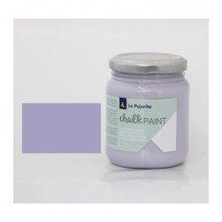 Pintura Acrilica La Pajarita Efecto Tiza Color Violeta 175 ml Chalk Paint