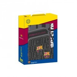 SET REGALO PEQUEÑO F.C. BARCELONA BLACK 280X350X60 MM
