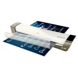 Plastificadora Leitz DIN A3 con 2 Rodillos hasta 125MC color Plata