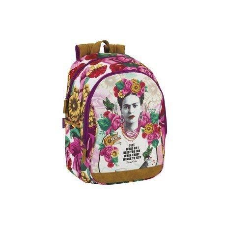 Mochila Escolar Frida Kahlo 32x14x43 cm