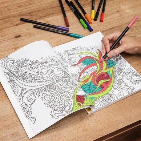 Libro para colorear Mandala Antiestres