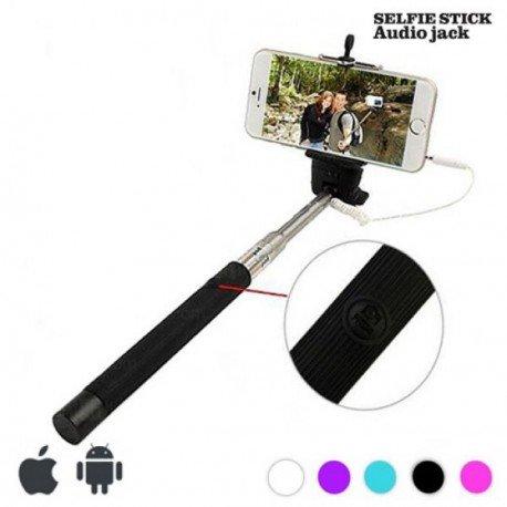 Monopie con Cable para selfies Colores Surtidos NO SE PUEDE ELEGIR COLOR