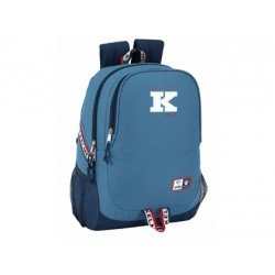 CARTERA ESCOLAR SAFTA KELME 1977 MOCHILA ADAPTABLE A CARRO 320X440X160 MM