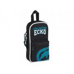 Plumier Escolar Ecko 12x5x23 cm UNLTD 4 portatodos