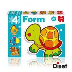 Puzzles Bebé a partir de 2 años Animales Diset
