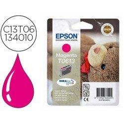 Cartucho Epson T0613 color Magenta C13T06134010