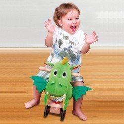 Juego para bebes a partir de 1 año Dragon Puffy Wonderworlds