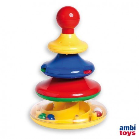 Juego para bebes a partir de 1 año Torre de Actividades marca Ambitoys