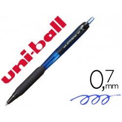 Boligrafo Uni-ball Jetstream SXN-101 Retractil 0,7 mm color Azul