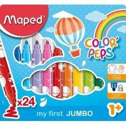 Rotuladores Maped Color Peps Caja de 24 rotuladores
