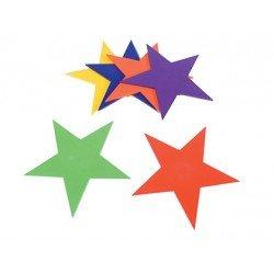 Estrella de caucho antideslizante set de 6 unidades Amaya
