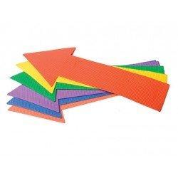 Flecha recta de caucho antideslizante set de 6 unidades Amaya