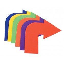 Flecha curva de caucho antideslizante set de 6 unidades Amaya