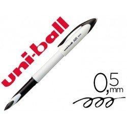 BOLIGRAFO UNI-BALL ROLLER AIR MICRO UBA-188E-M 0,5 MM BLANCO TINTA NEGRA