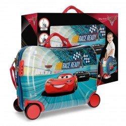 Maleta correpasillos 39x50x20 cm Rígida 4 ruedas Cars Race