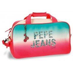 Bolsa de viaje 25x45x24 cm en Piel Sintética Pepe Jeans Nicole