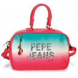 Bolsa de viaje 37x25x15 cm de Piel Sintética Pepe Jeans Nicole