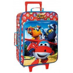 Maleta de cabina 50x36x20 cm Blanda 2 ruedas Super Wings Mountain