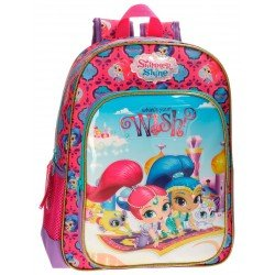 Mochila Shimmer and Shine 38x29x12 cm de Microfibra Wish Adaptable a carro