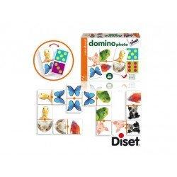 Juego Didactico a partir de 3 años Domino Animales Diset