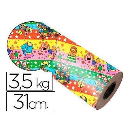 Bobina papel tipo verjurado Impresma 31 cm 3,5 kg star 7009