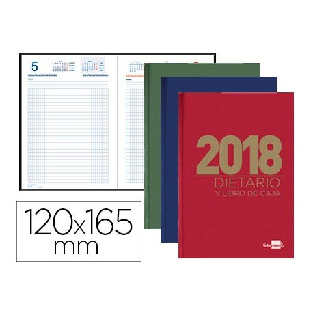 DIETARIO LIDERPAPEL 12X16,5 CM 2018 OCTAVO
