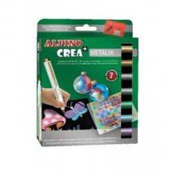 Rotuladores Alpino Crea Metalix Caja de 7 colores