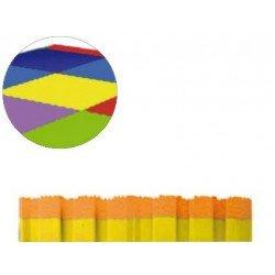 Suelo de puzzle Bicolor Amarillo y Naranja 1m x 1m x 2 cm Sumo Didactic