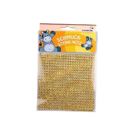 Malla de piedra decorativa oro 11,5x12 cm itKrea