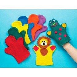 Marionetas de felpa para manos Colores surtidos itKrea