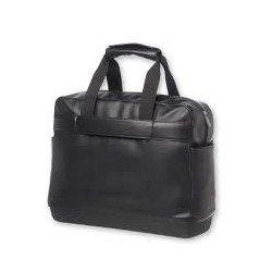 "Maletin para portatil 15"" Moleskine bolsillo exterior color Negro"