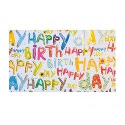 PAPEL REGALO ARGUVAL TURNOWSKY HAPPY BIRTHDAY