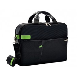 "Maletin para portatil esselte smart traveller 13,3"" color negro 280x80x385 mm"