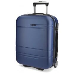 Maleta de cabina 55x40x20 cm Rigida 2 Ruedas Movom Matrix Azul