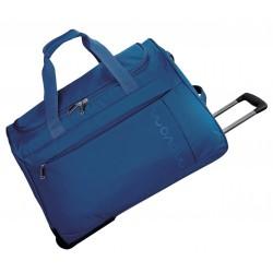 Bolsa de viaje 55x35x25 cm de Eva Movom Manhattan Azul con ruedas