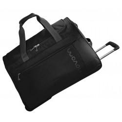 Bolsa de viaje 55x35x25 cm de Eva Movom Manhattan Negra con ruedas