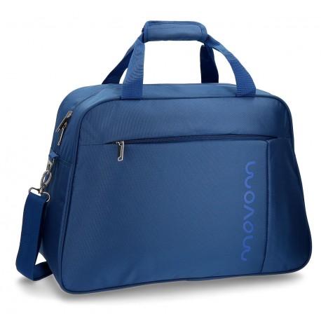 Bolsa de viaje 50x35x23 cm de Eva Movom Manhattan Azul