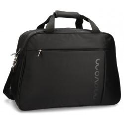 Bolsa de viaje 50x35x23 cm de Eva Movom Manhattan Negra