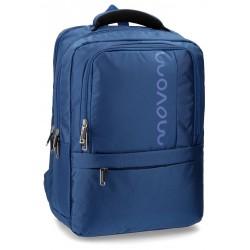 """Mochila para portatil 13,3"""" de Movom Manhattan Azul"""