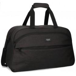 Bolsa de viaje 55x35x25 cm de Poliéster Movom Ottawa Negra